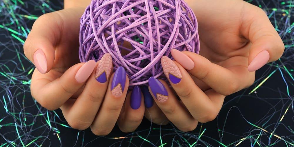 Наращивание ногтей под гель-лак/лак